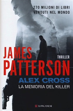 Copertina di Alex Cross la memoria del killer